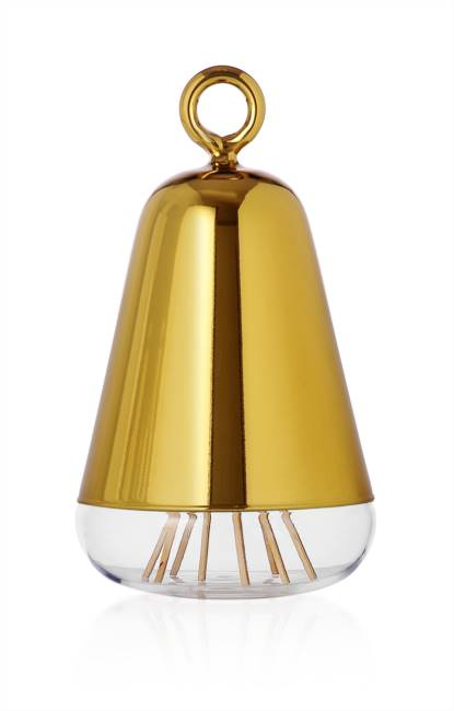 Golden Perfume Container