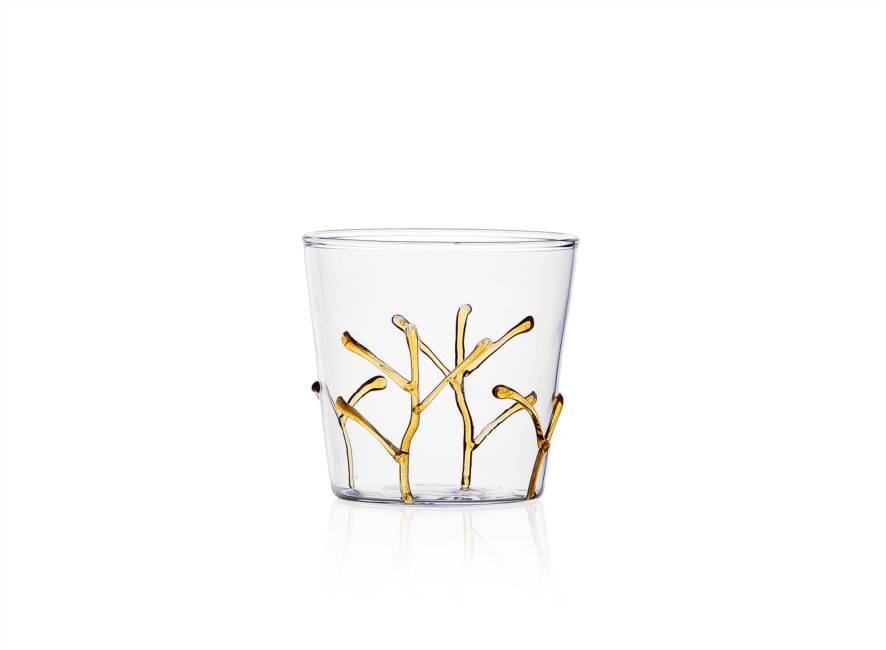 "Tumbler ""amber Branches"""
