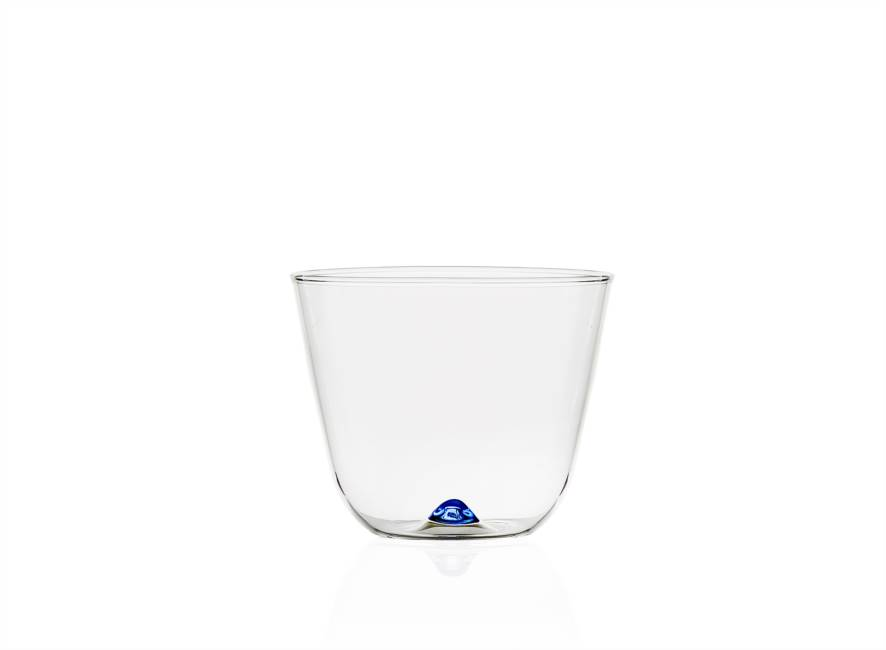 Light Blue Water Glass