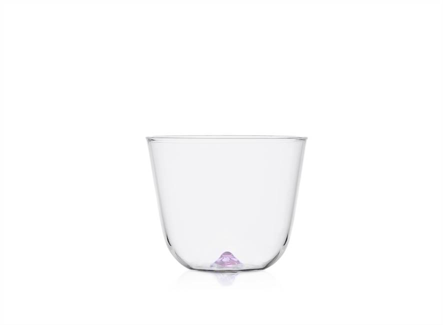 Violet Water Glass