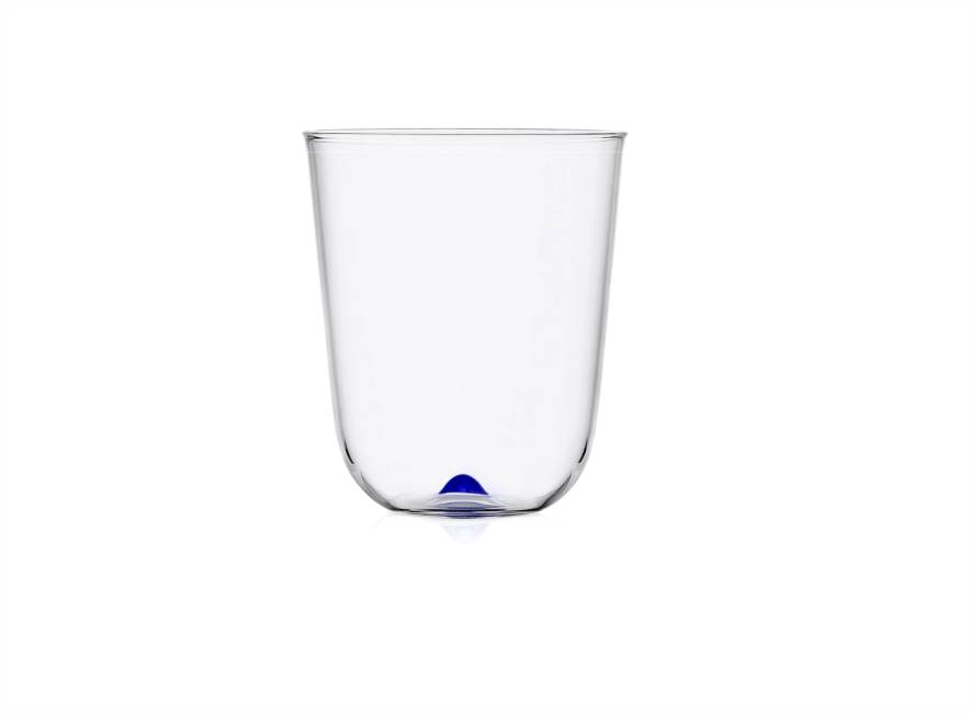 Blue Longdrink Glass