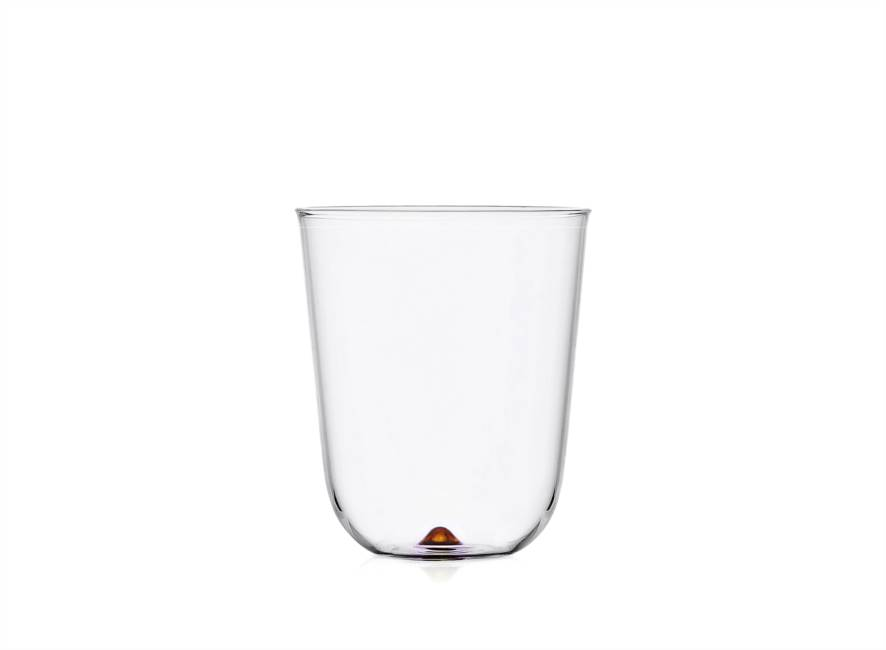Amber Longdrink Glass
