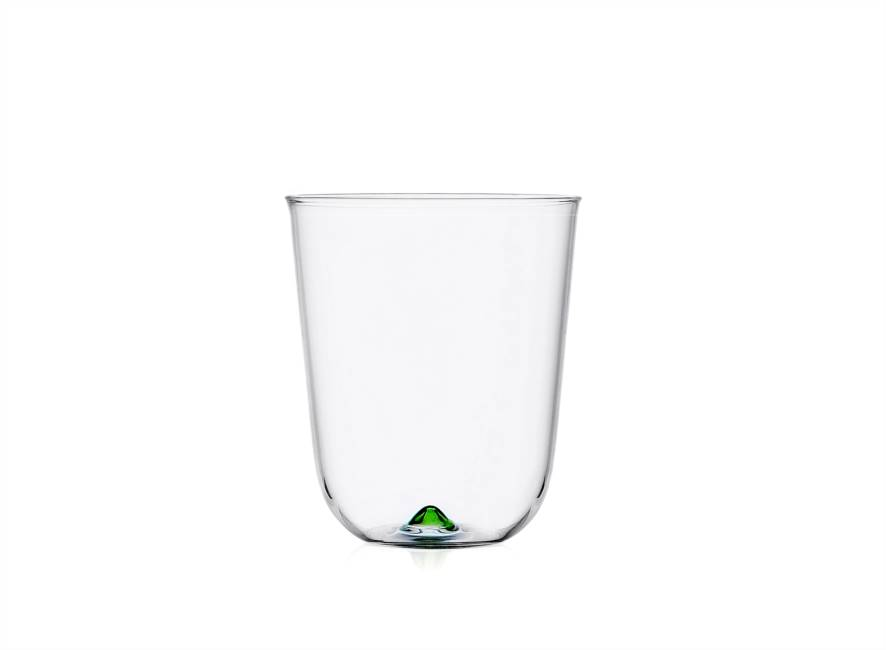 Green Longdrink Glass