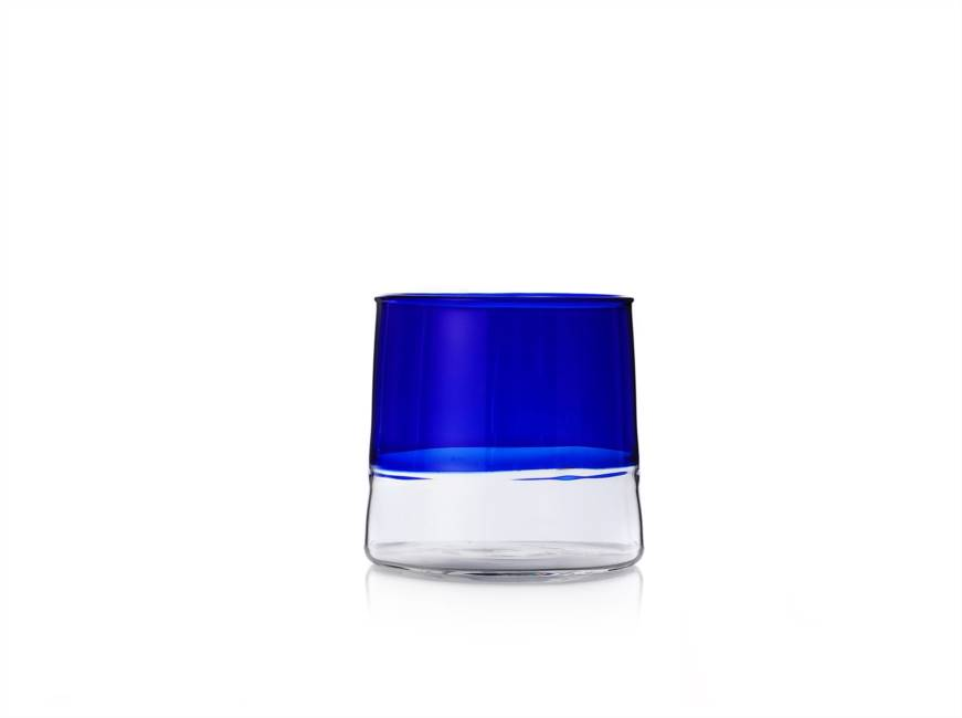 Wine Clear Bottom/blue