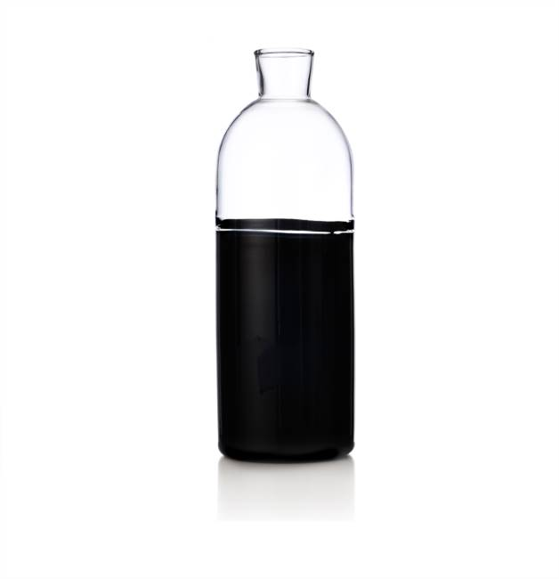 Jug Black Bottom/clear