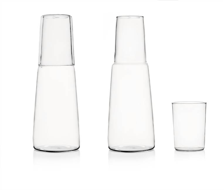Set Night Bottle + Glass