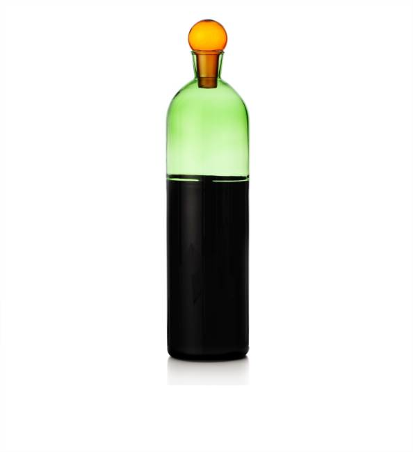 Bottle Black Bottom/green