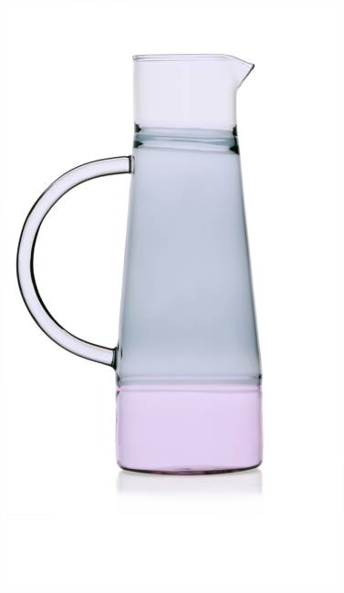 High Jug Pink/smoke/clear