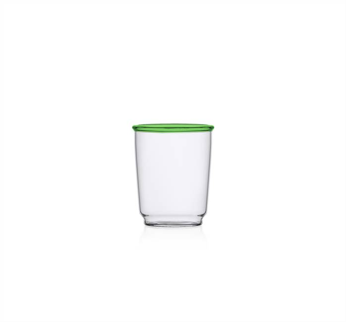 Green Wine Glass