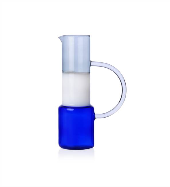 Jug Blue/white/smoke