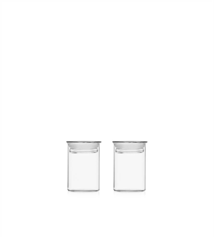 2pcs Herbs And Spices Jar