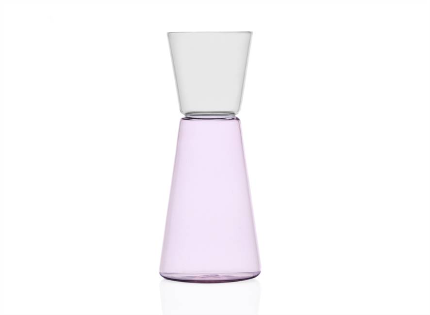 Pitcher Pink/clear 750 Ml