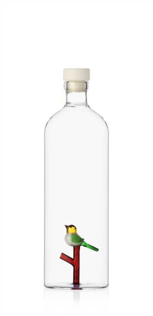 Bottle W/bird
