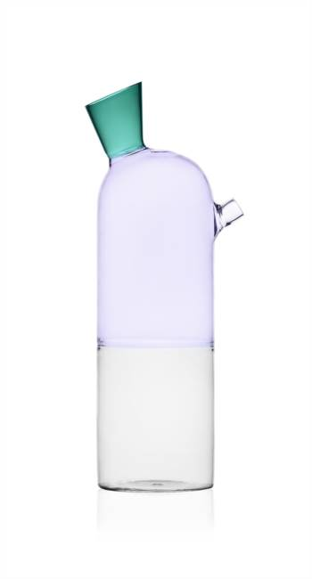 Bottle Clear/lilac/green