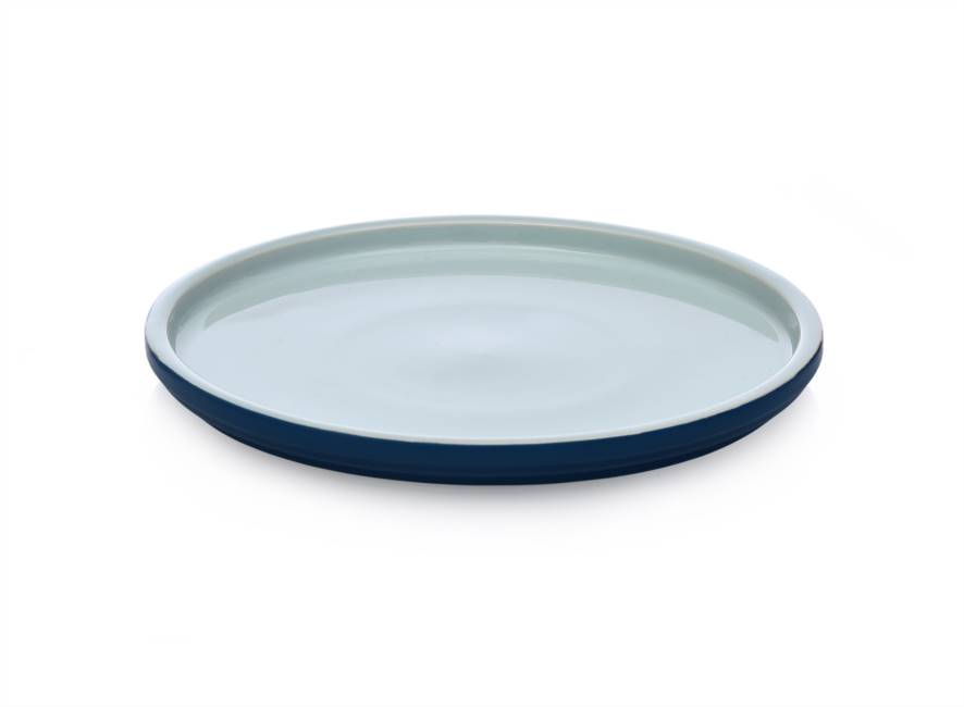 Dinner Plate 26x2 Light Blue/blue