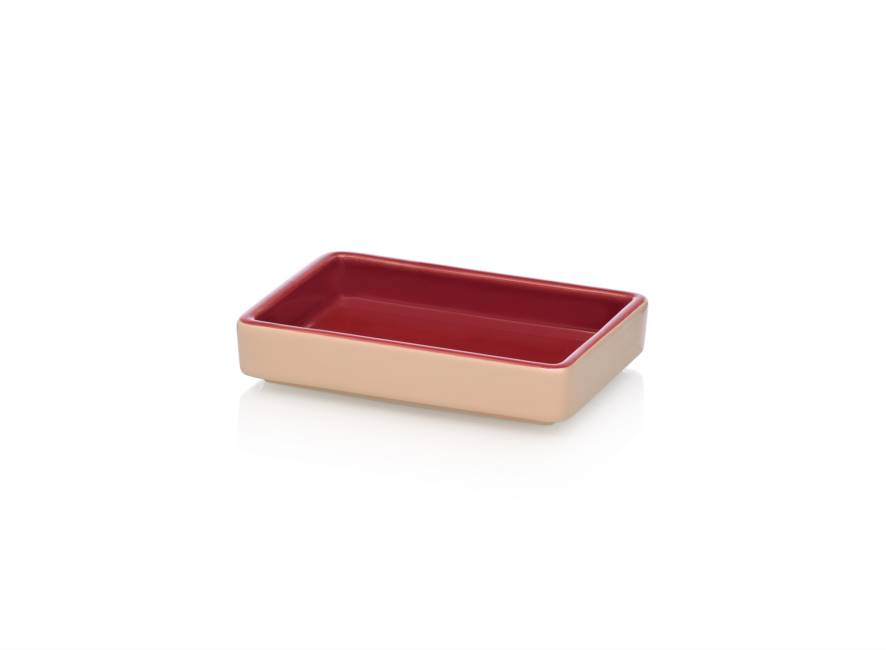 Tray 15x10 Red/pink