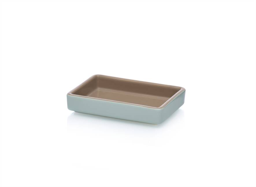 Tray 15x10 Sand/light Blue