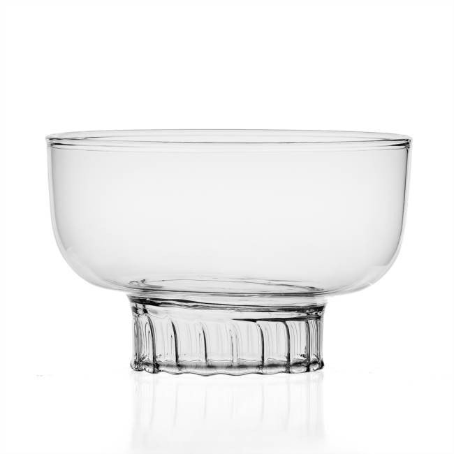 Small clear bowl